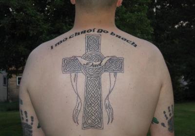 Что означает крест на спине