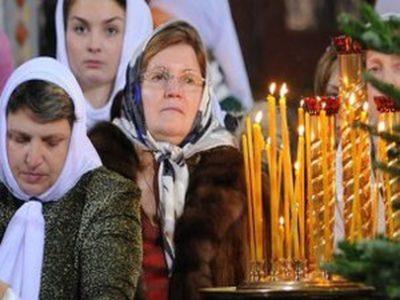 Когда начинается служба в церкви в Рождество