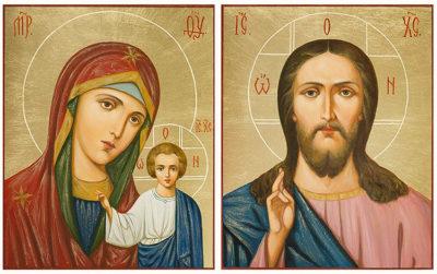 Кто держит иконы на венчание