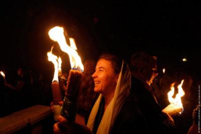 Когда зажигают огонь на Пасху