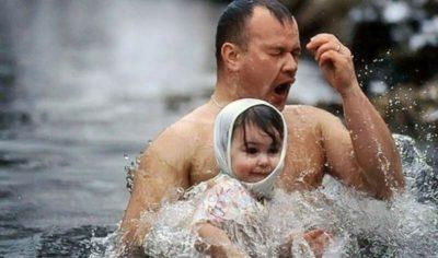 Можно ли дома купаться на Крещение
