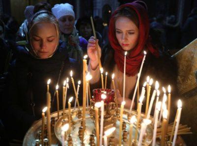 Когда начинается служба в храме на Рождество