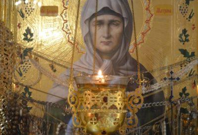 Где находятся мощи святой Матроны