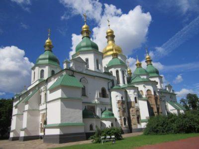 Сколько куполов имеет Софийский собор в Киеве