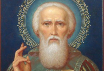 В каком году родился и умер Сергей Радонежский