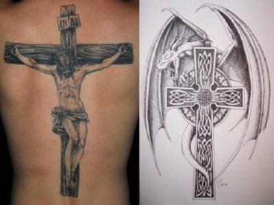 Что означает татуировка могила с крестом