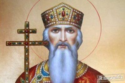 где крестился князь владимир