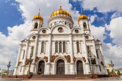 В каком году был построен Храм Христа Спасителя