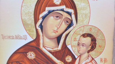 тихвинская икона божией матери где находится