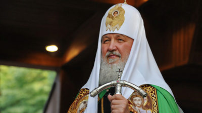 сколько лет патриарху кириллу