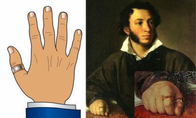 Кто носит кольцо на безымянном пальце левой руки