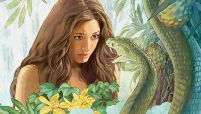 Как зовут змея искусителя в Библии