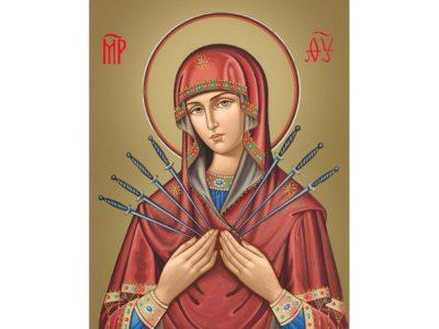 Что означает Семистрельная икона Божией Матери