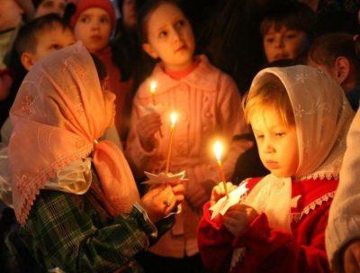 Когда русские празднуют Рождество