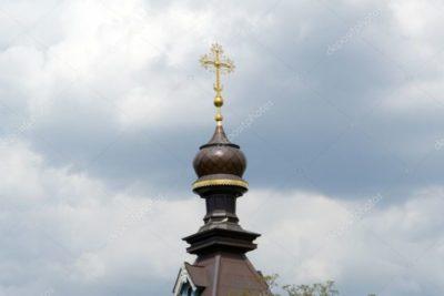 Что означает крест на куполе