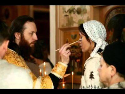 Что такое помазание миром
