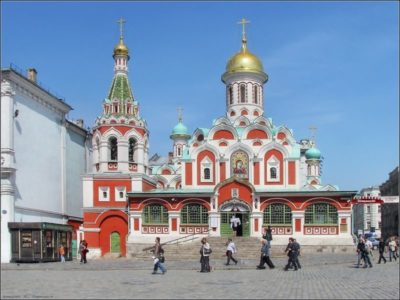 В каком году был построен Казанский собор