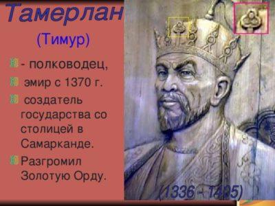 Что означает имя Тимур