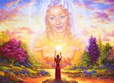 Кто у Бога мать