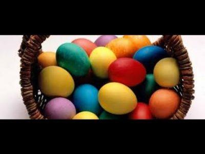 Почему надо красить яйца на Пасху