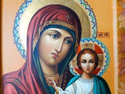 где находится икона казанской божьей матери