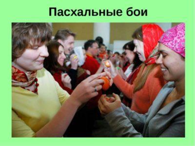 Как приветствуют друг друга на Пасху