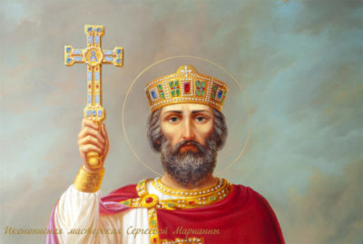 В каком городе крестился князь Владимир Святославич