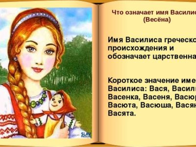 Как правильно пишется имя Василина