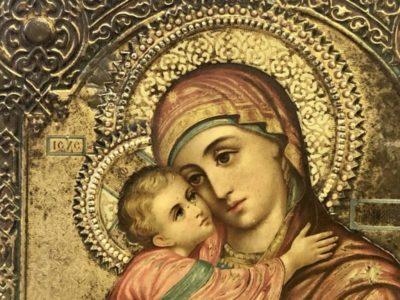 Кто написал икону Владимирской Божьей Матери