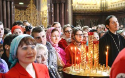 как проходит служба в церкви