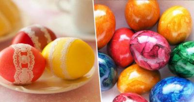 Почему на Пасху красят яйца для детей