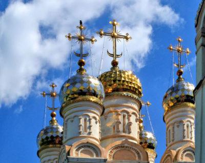 Что означает храм с пятью куполами