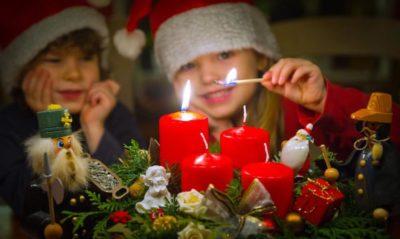 Когда зажигается первая свеча Адвента