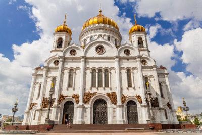 Сколько лет строился храм Христа Спасителя
