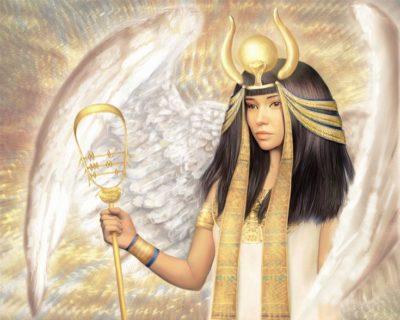 Как изображался бог Исида