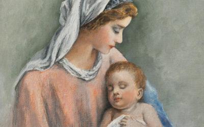 во сколько родила дева мария
